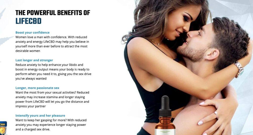 Benefits life cbd male enhancement oil