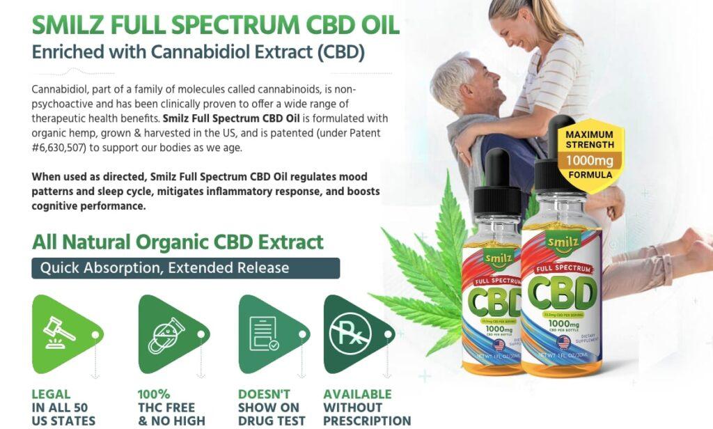 Smilz Full Spectrum CBD Oil