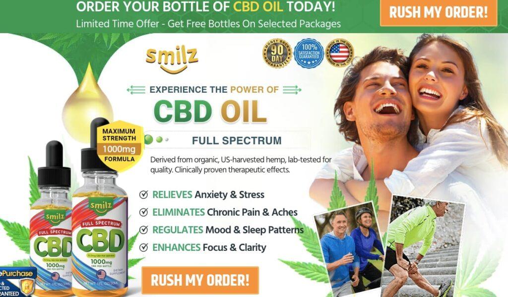 Where to buy Smilz Full Spectrum CBD Oil