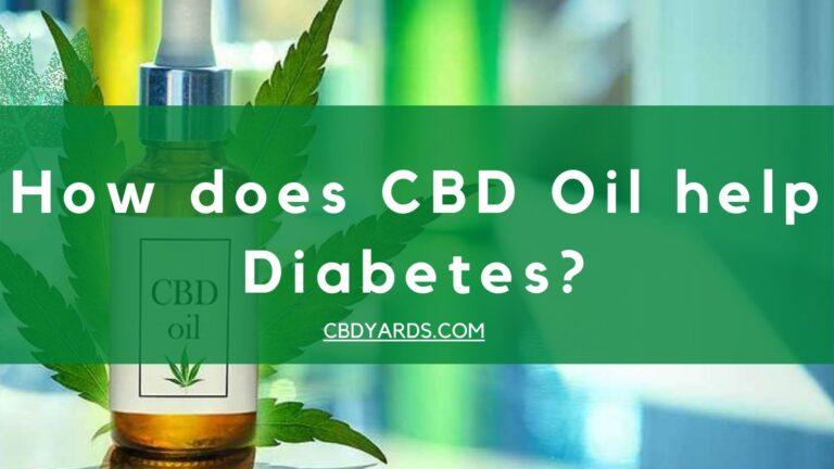 How does CBD Oil help Diabetes