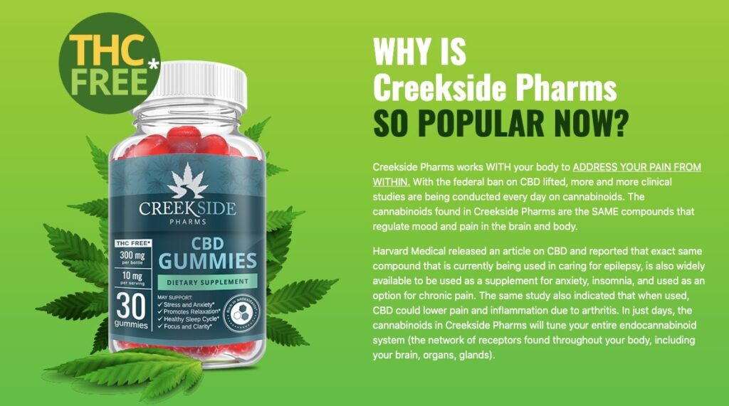 What is Creekside Pharms CBD Gummies