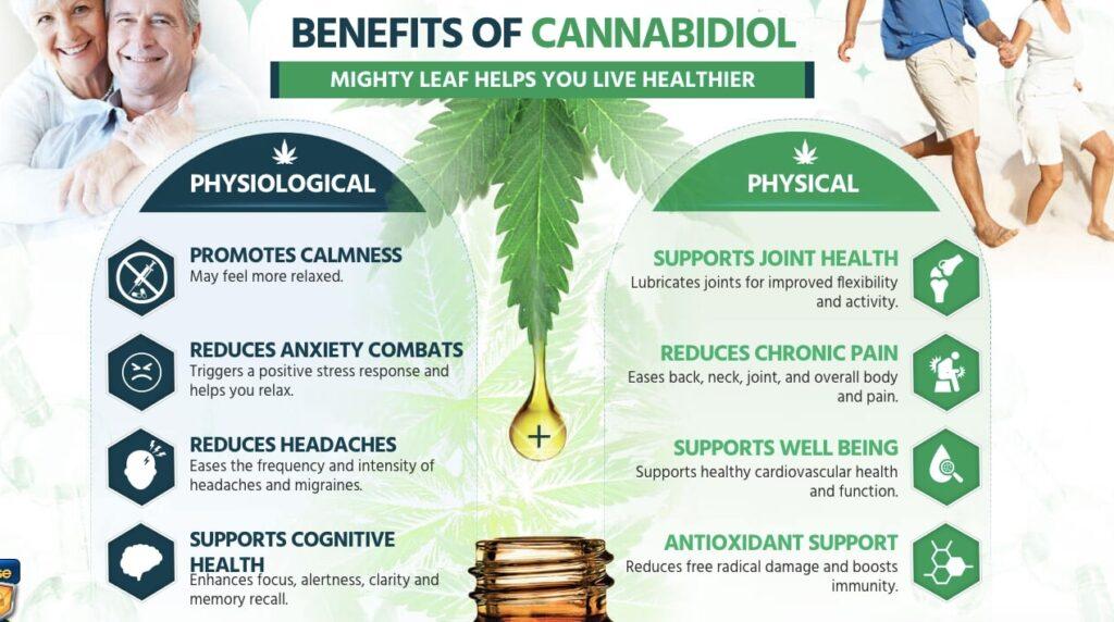 benefits of mighty leaf cbd oil