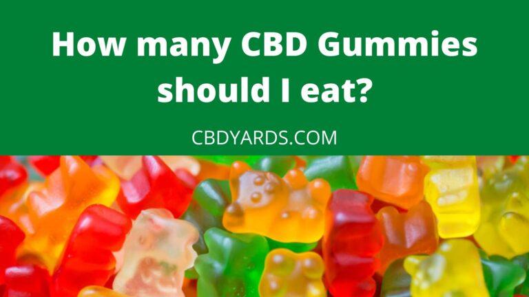 how many cbd gummies should i eat