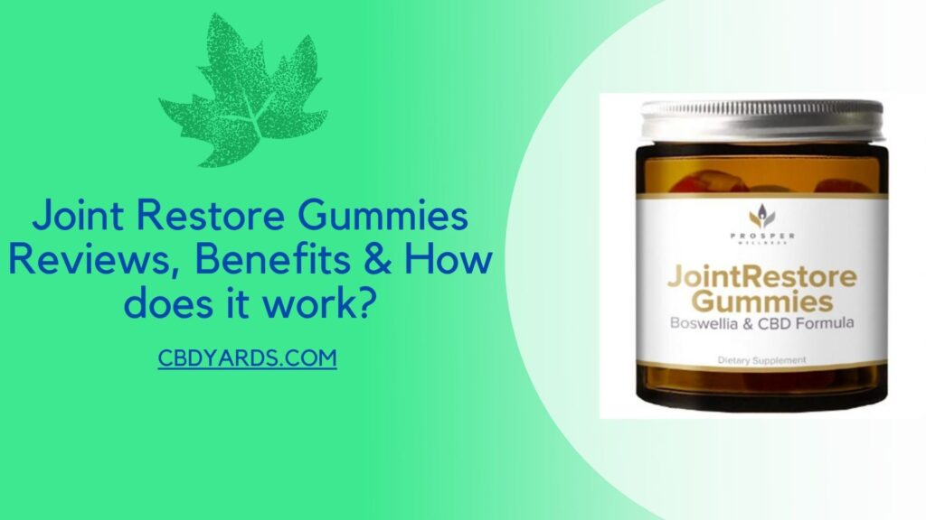 joint restore gummies review