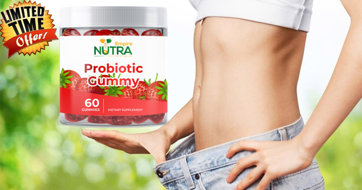 Nutra Empire Probiotic Gummies