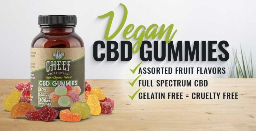 cheef botanicals cbd gummies review