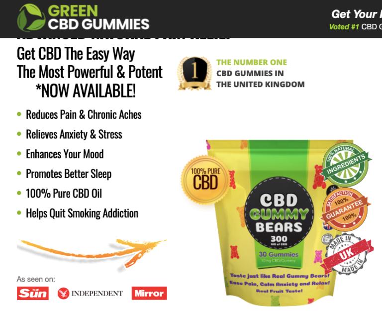 Green CBD Gummies Reviews