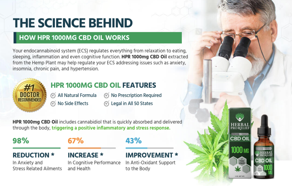 Herbal pro relief CBD Oil Review