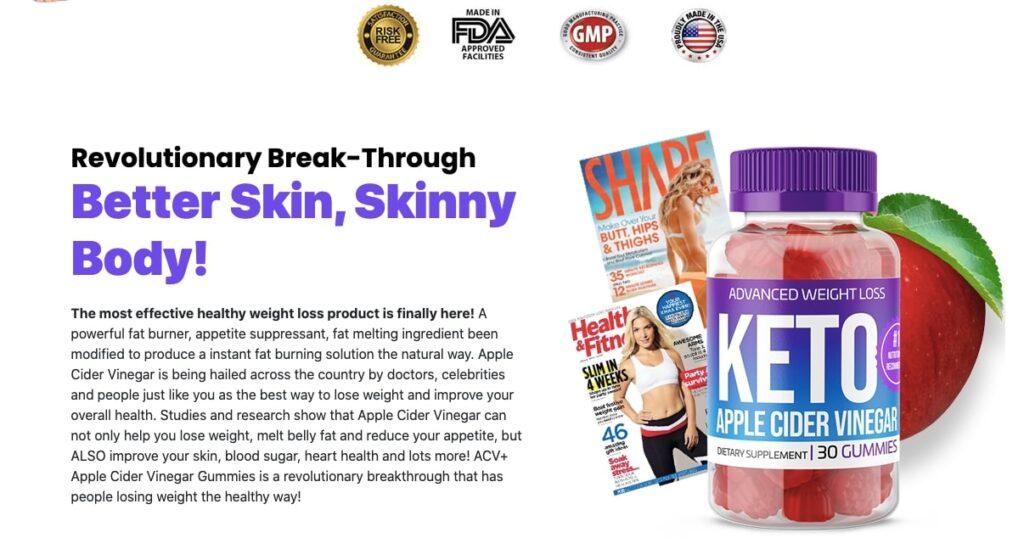 benefits of apple cider vinegar keto gummies