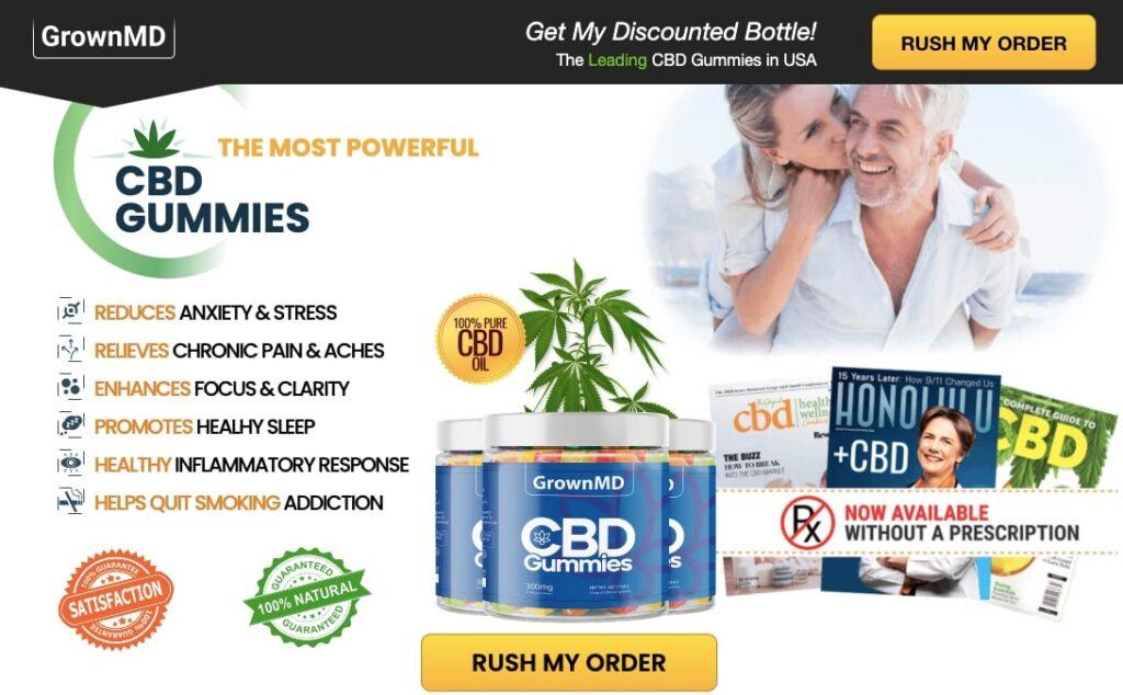 buy GrownMD CBD Gummies