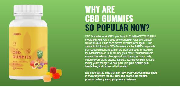 UNBS CBD Gummies Reviews