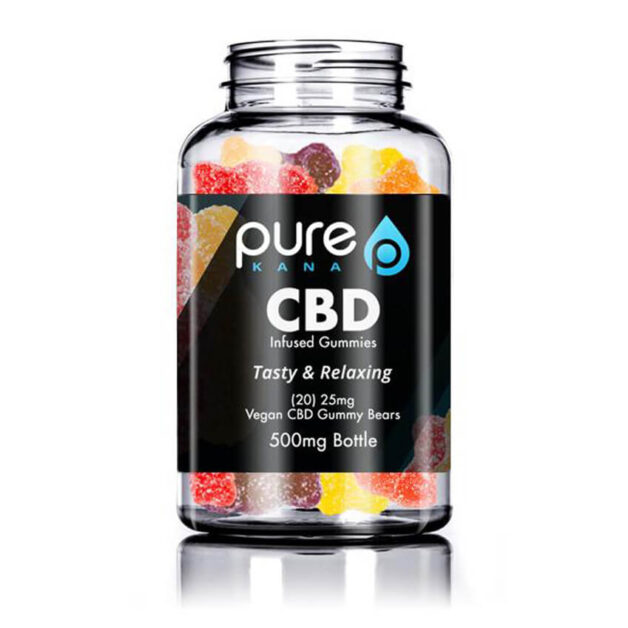 Pure CBD Gummies Extra Strength